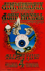 World record price offered for this Bill Graham BG-105 Jimi Hendrix Fillmore Auditorium 2/1/68 concert poster