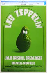 Led Zeppelin BG170 Concert Poster