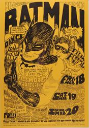 World record price offered for this Bill Graham BG-2 Batman Fillmore Auditorium 3/18/66 concert poster