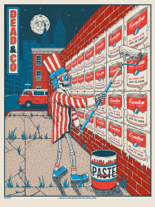Dead & Company Concert Poster by Owen Murphy