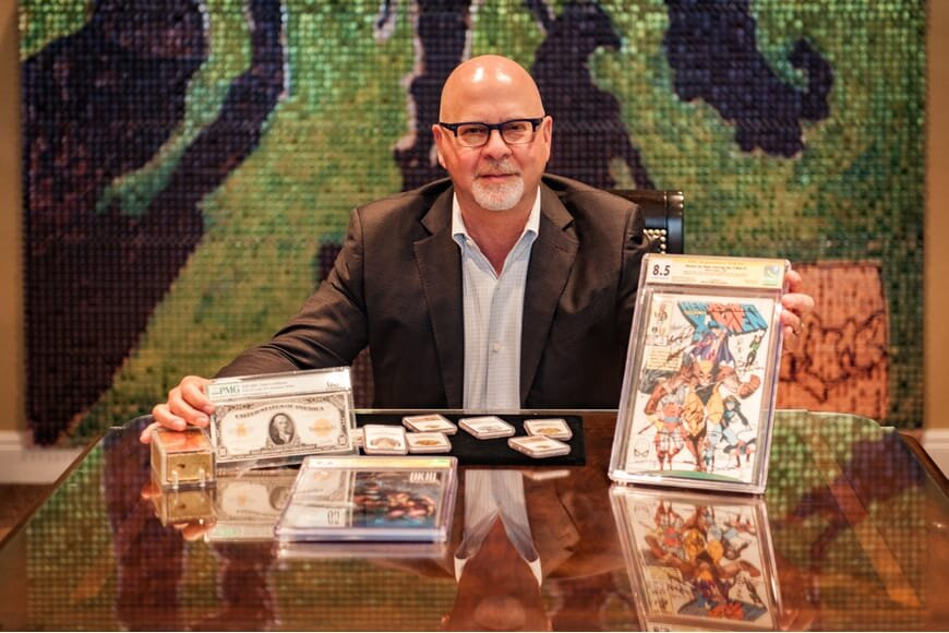 Mark Salzberg chairman of Certified Collectibles Group