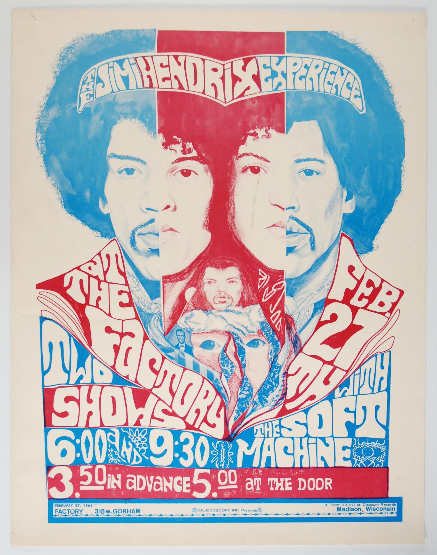 Jimi Hendrix Experience, The Factory