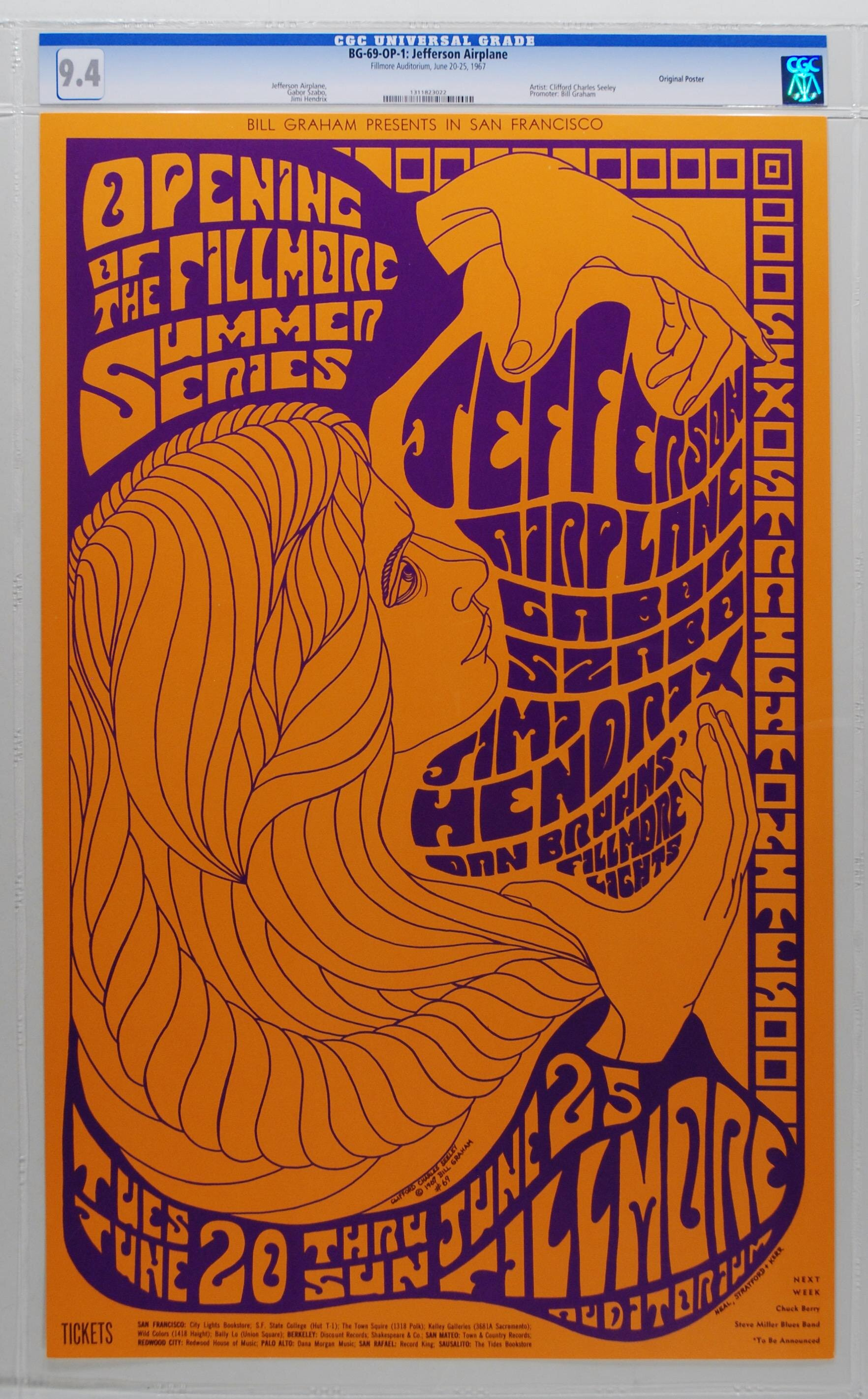 Jefferson Airplane, Fillmore Auditorium