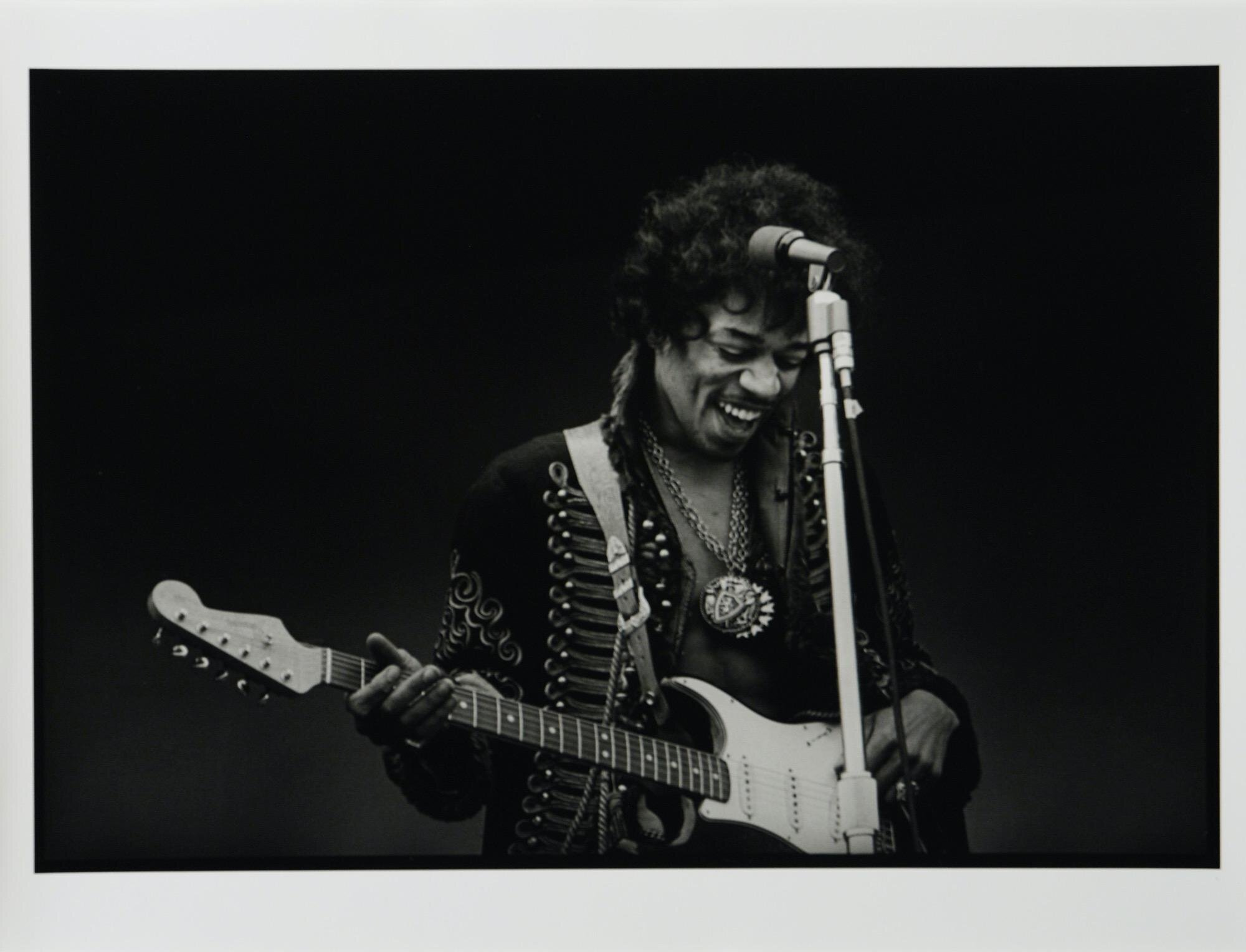Jimi Hendrix at Monterey Pop Festival