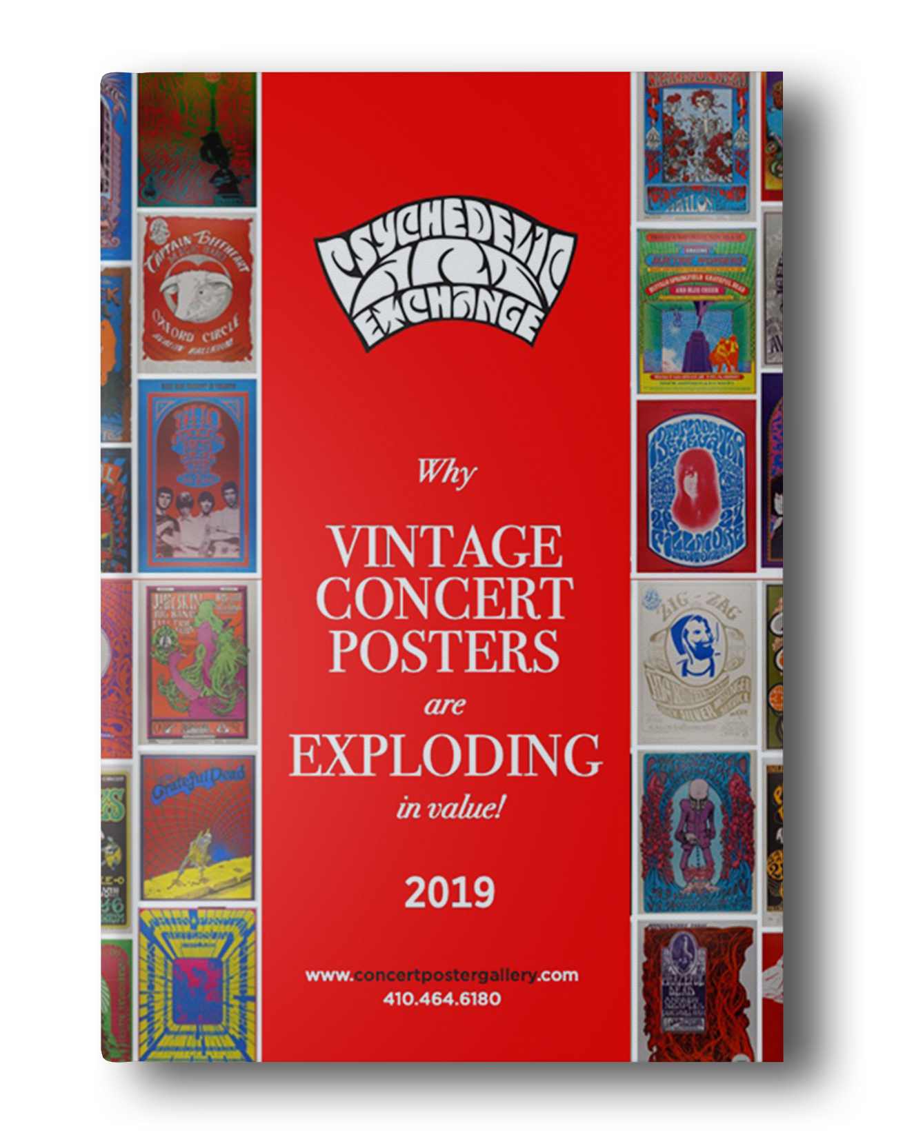 Psychedelic Art Exchange – Why Vintage Concert Posters are Exploding in Value! 2019 –Free Collector's Guide