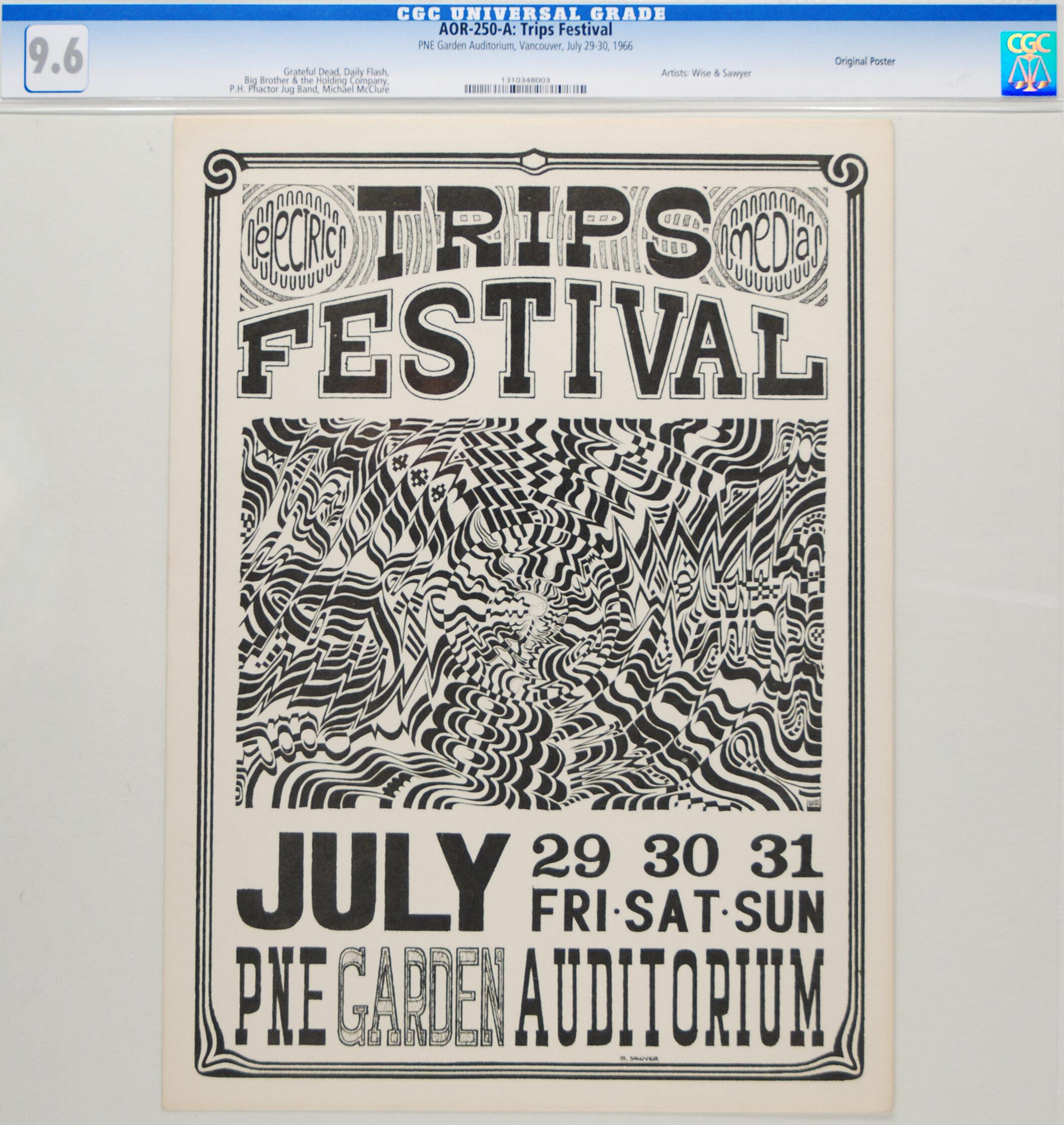 Trips Festival, PNE Garden Auditorium 1966