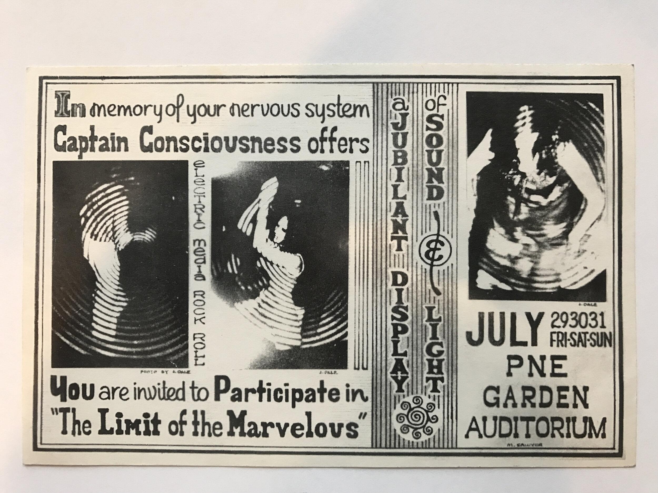 Trips Festival, PNE Garden Auditorium 1966 Ticket