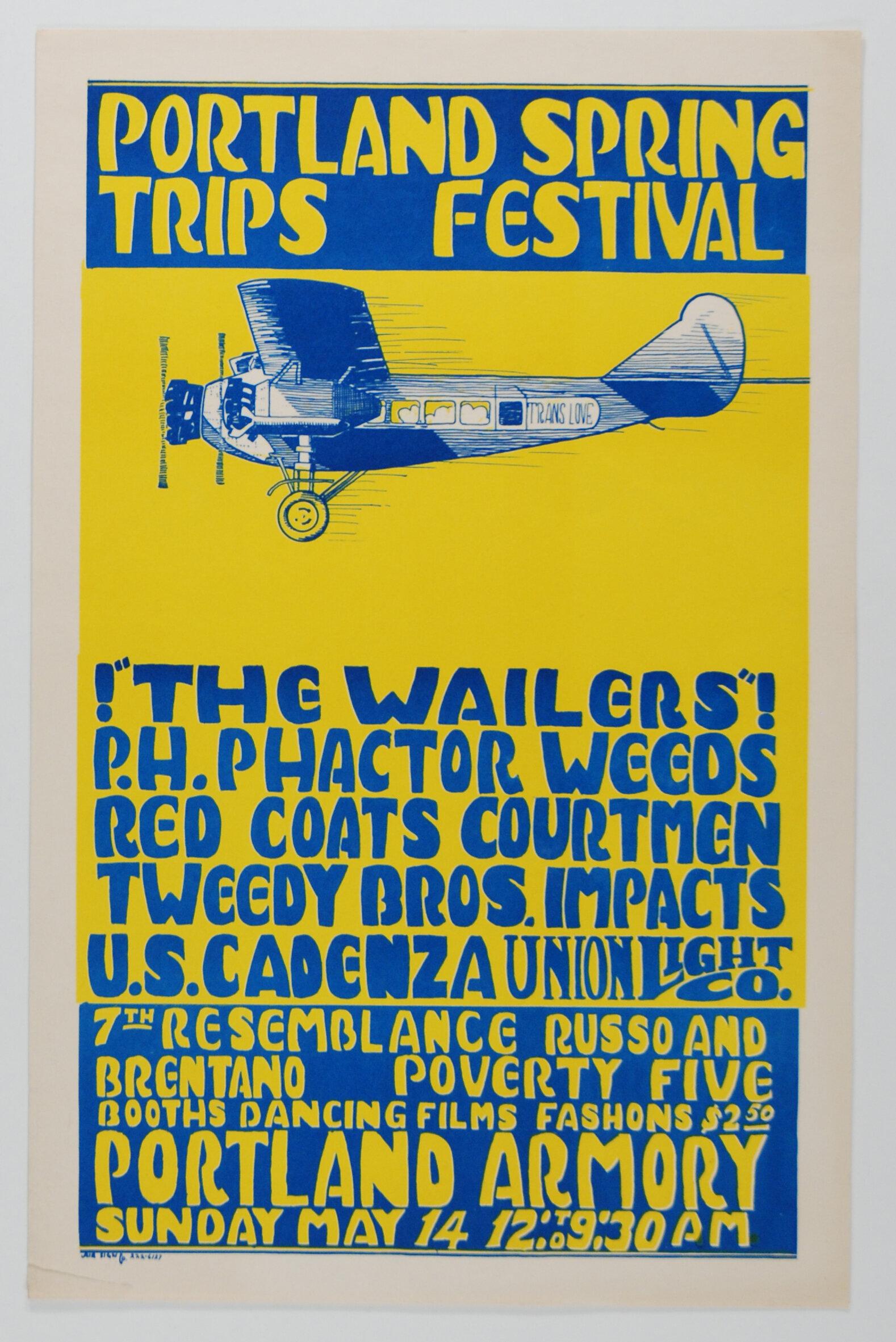 Trips Festival Poster