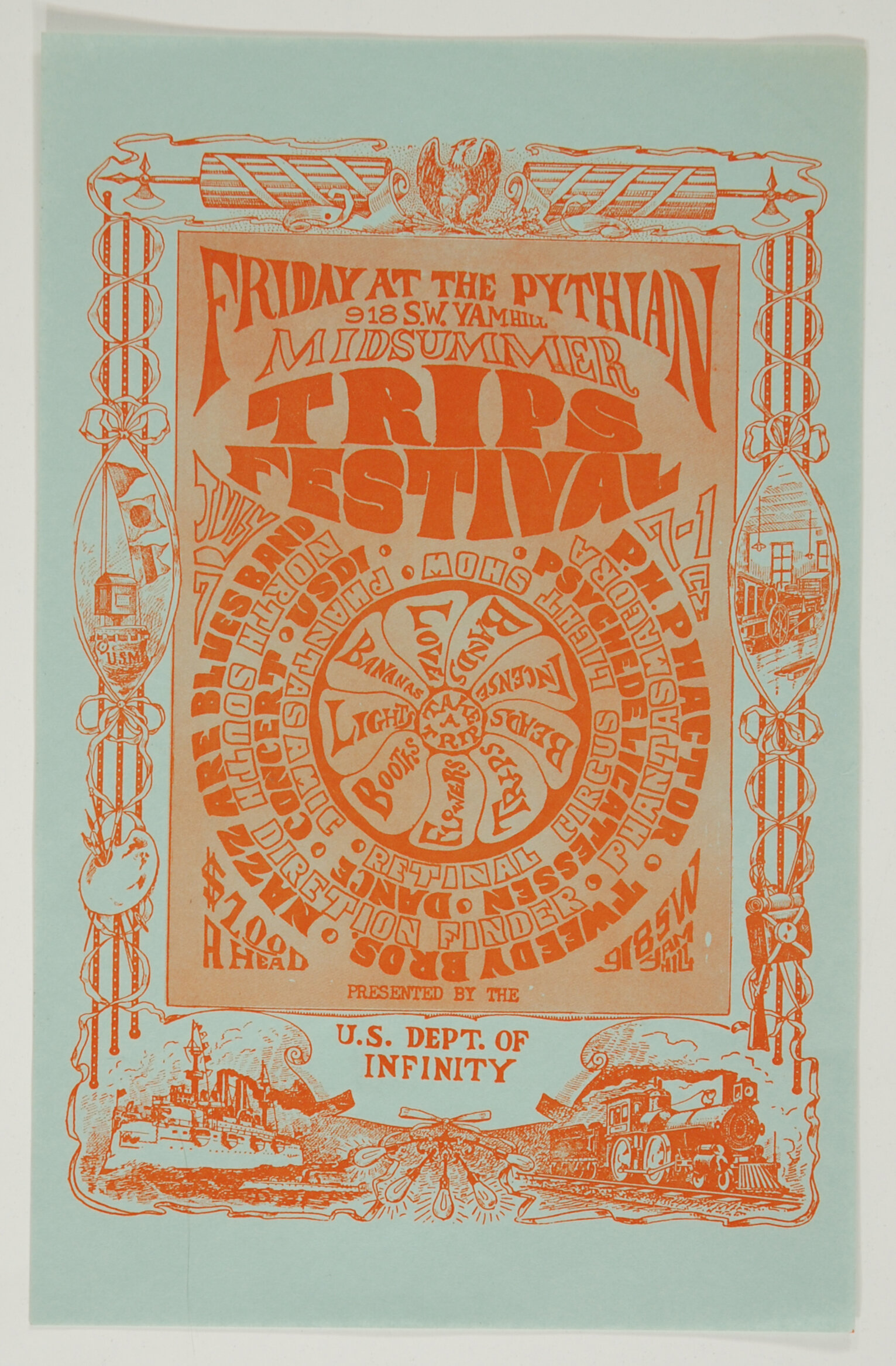 Turn on to the Trips Festival, New City Handbill