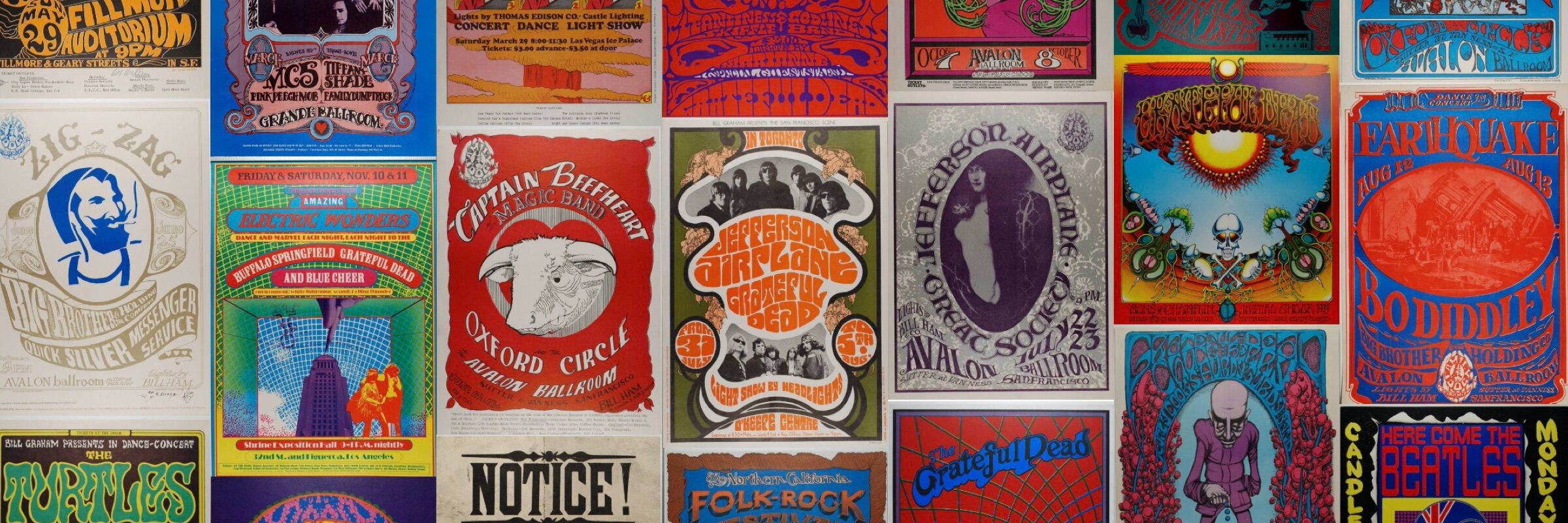 Ultimate Vintage Concert Poster Price GUide -