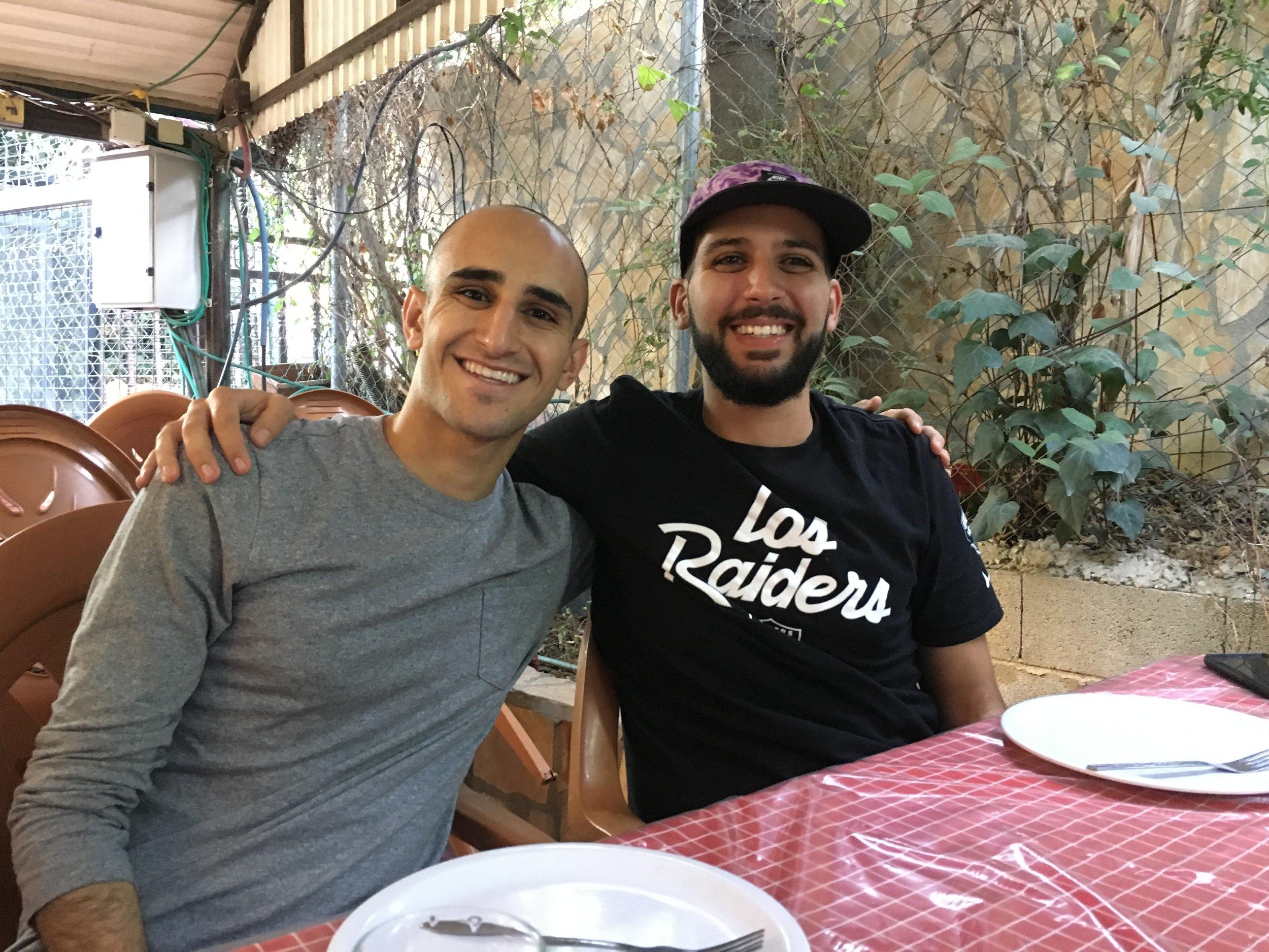 RJ and Ashraf, July 2017