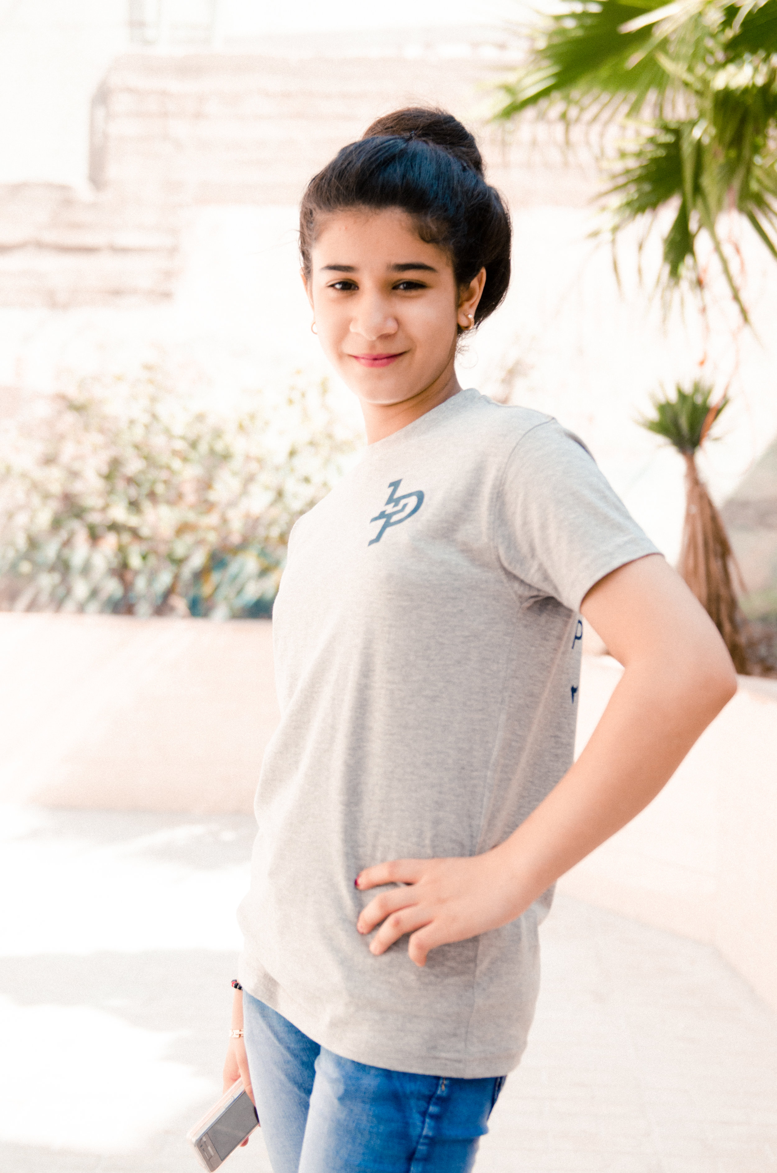 What is your favorite subject in school?     Arabic     What makes you happy?     Seeing my friends and all the people that I love.     What are your hobbies?     Swimming and riding horses. I want to be a teacher.