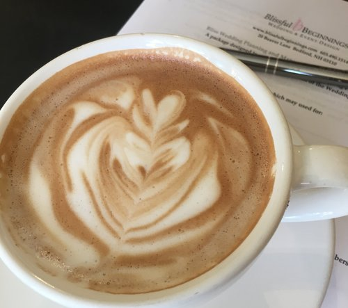 Let's have coffee and talk about your wedding needs.