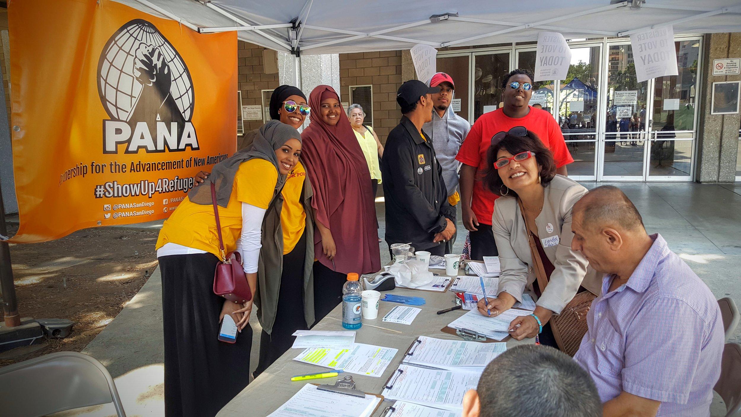 Summer Voter Registration Drive - 731 new voters
