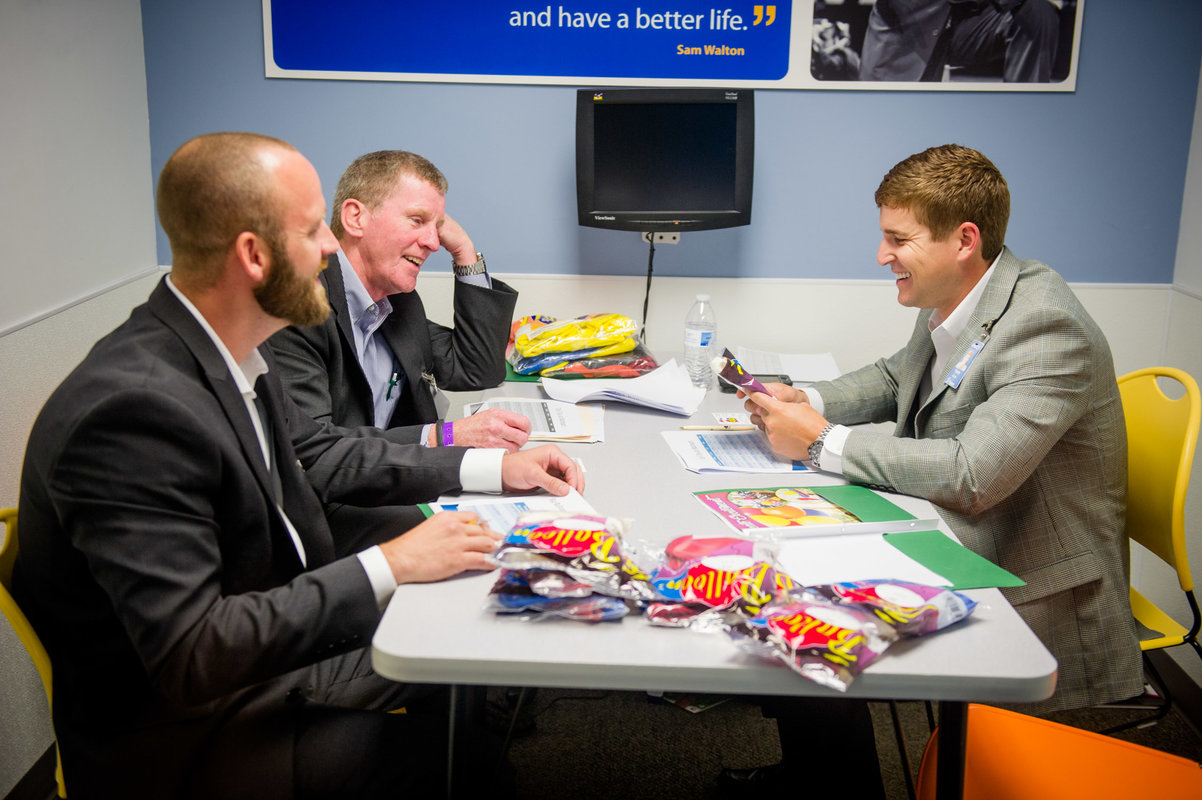 Product sellers and Walmart buyers will have hundreds of meetings on Tuesday as part of the U.S. Manufacturing Supplier Summit and Open Call in Bentonville.