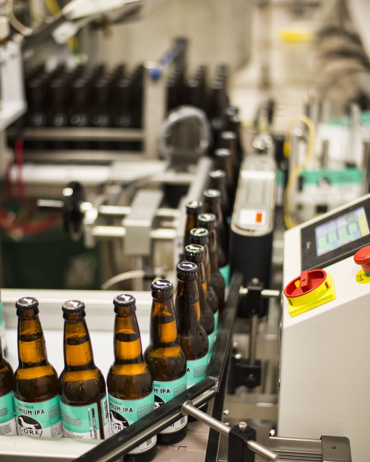 Core is one of the more popular microbrews produced in Northwest Arkansas. Production started in 2011.