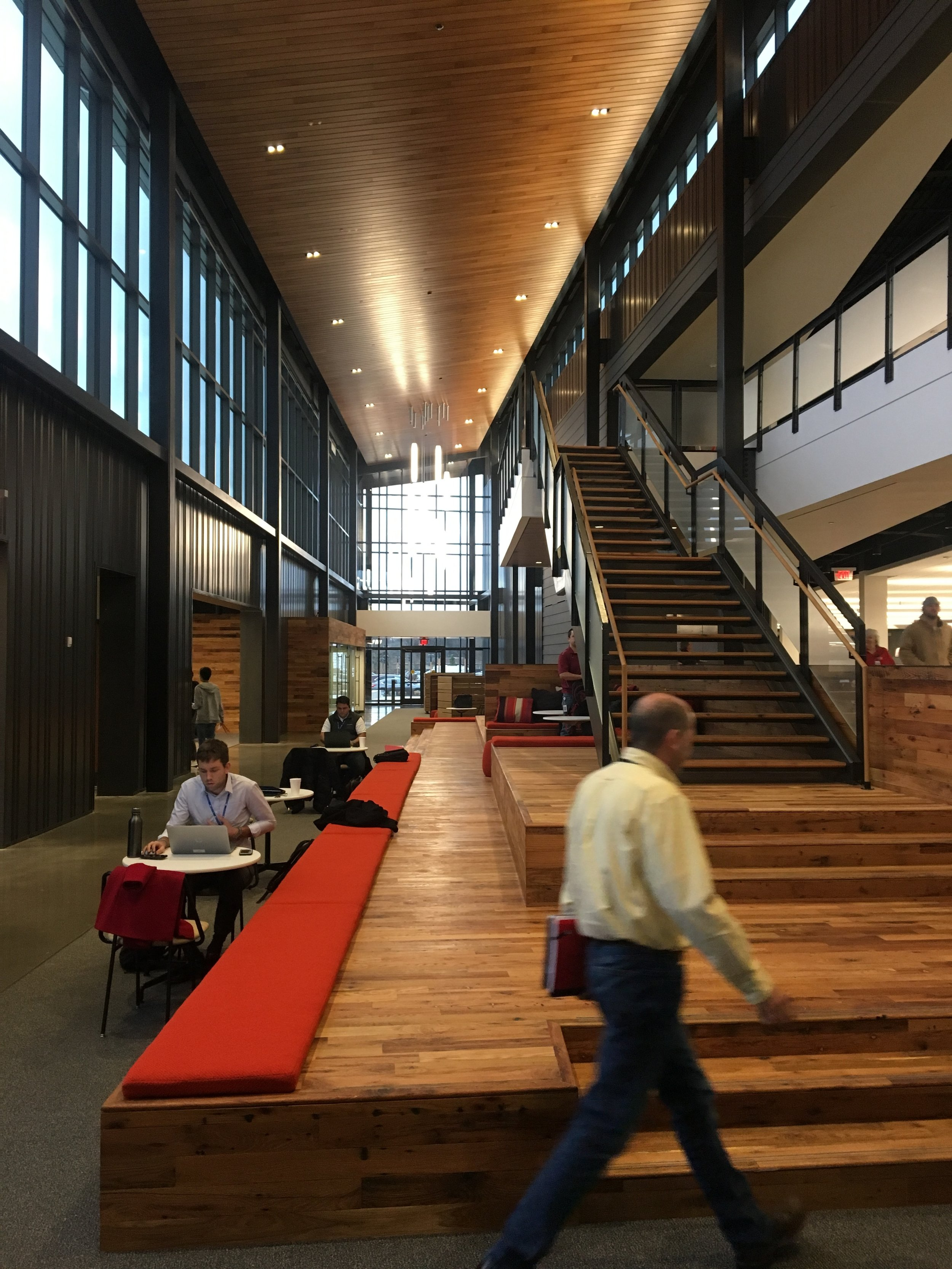 Tyson Foods, one of three Fortune 500 companies headquartered in the region, opened its impressive downtown technology hub in Springdale in 2017.