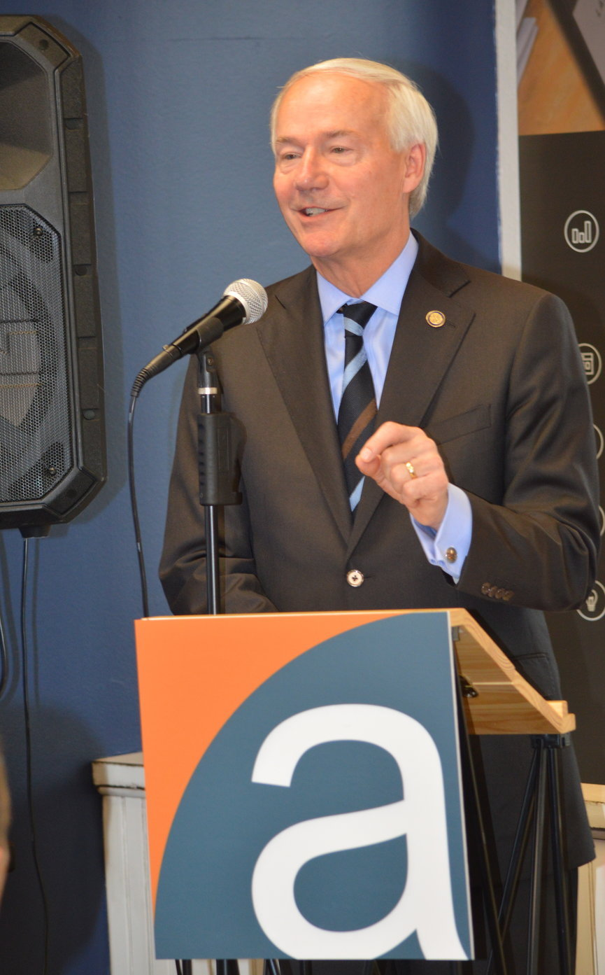 Arkansas Gov. Asa Hutchinson praised Affirma at today's press conference for creating technology jobs in Northwest Arkansas. The governor has stressed the importance of computer science throughout his terms as governor.