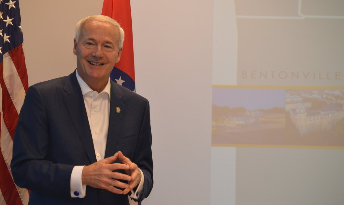 Arkansas Gov. Asa Hutchinson joined the Northwest Arkansas Council, the Arkansas Center for Data Sciences, the Arkansas Department of Commerce, Startup Junkie and RevUnit for today's announcements related to attracting and retaining tech talent in Northwest Arkansas.