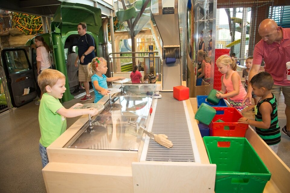 Scott Family Amazeum, a children's museum, opened in Bentonville in 2015. It's among many major quality-of-life projects in the region over the past decade. Photo provided by     Visit Bentonville    .