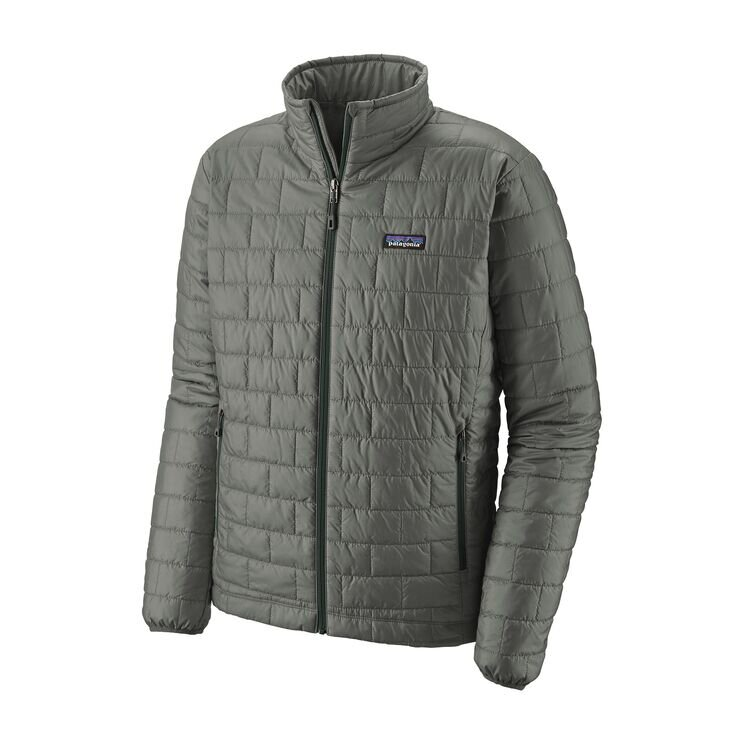 Nano Puff Jacket in Gray
