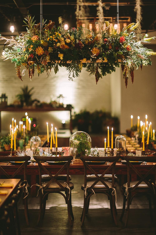 Urban Greenhouse Wedding