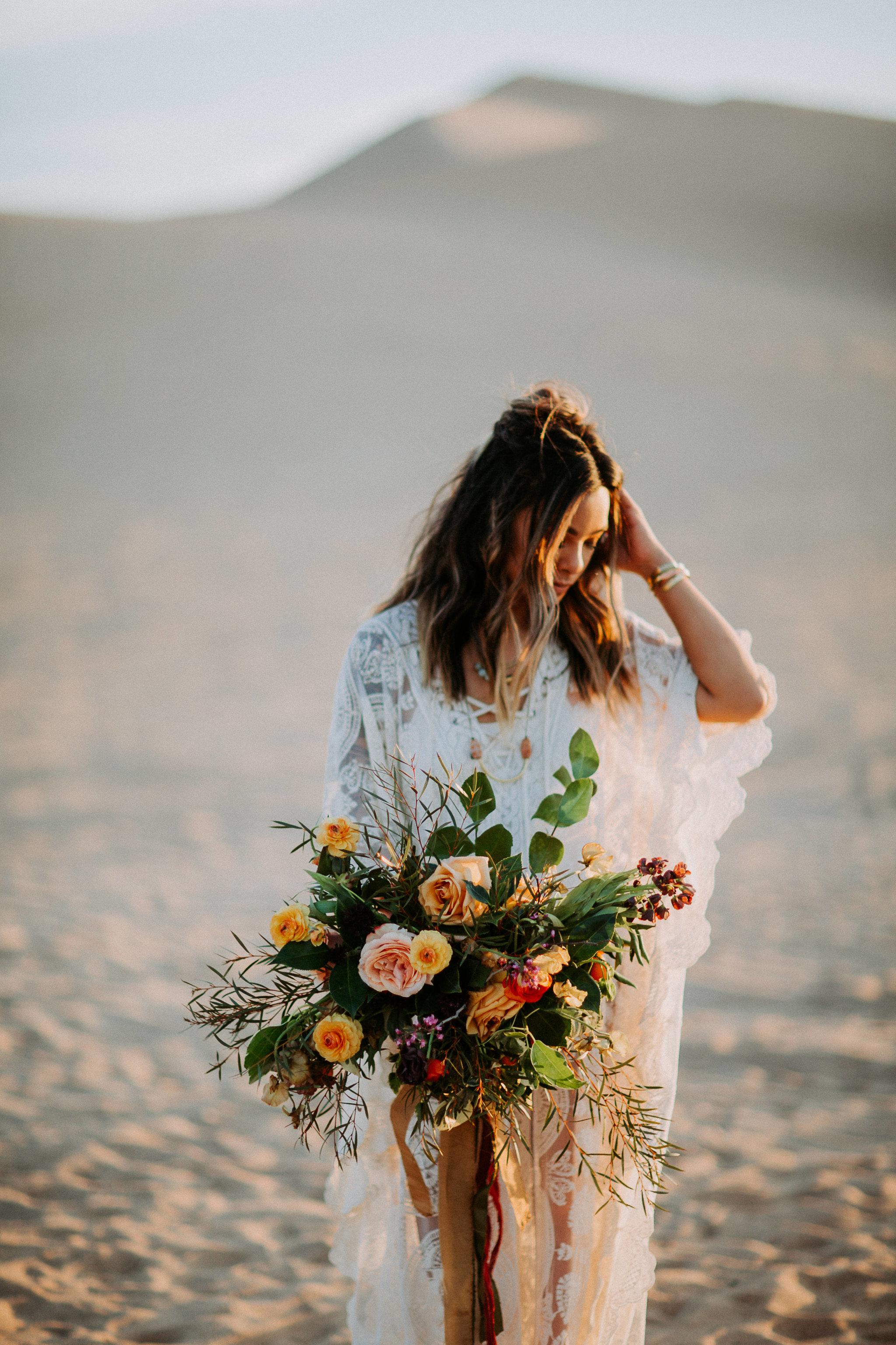 Nomadic Desert Caravan Wedding Inspiration
