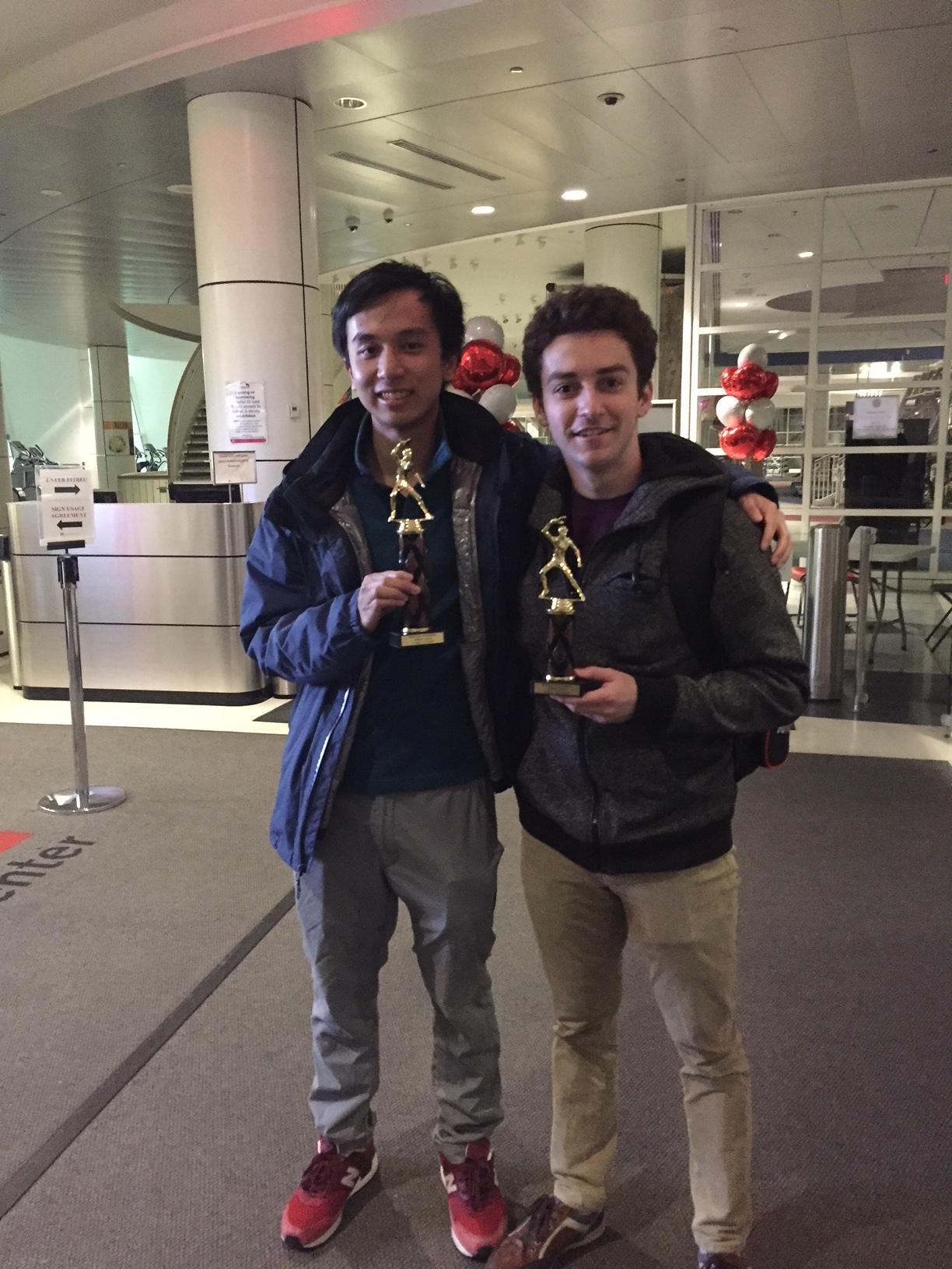 U1800 Champion and runner-up