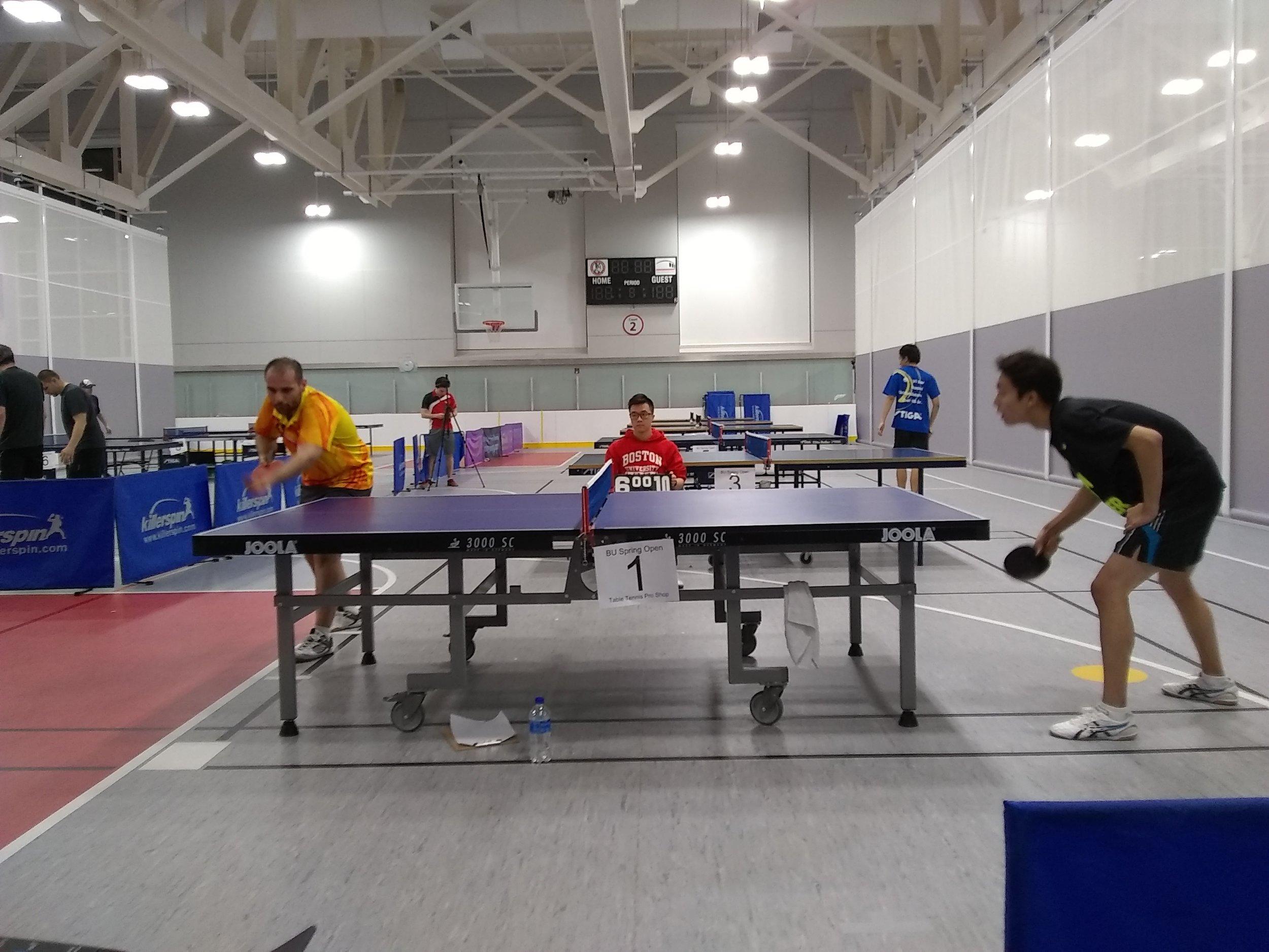 Open Singles Final