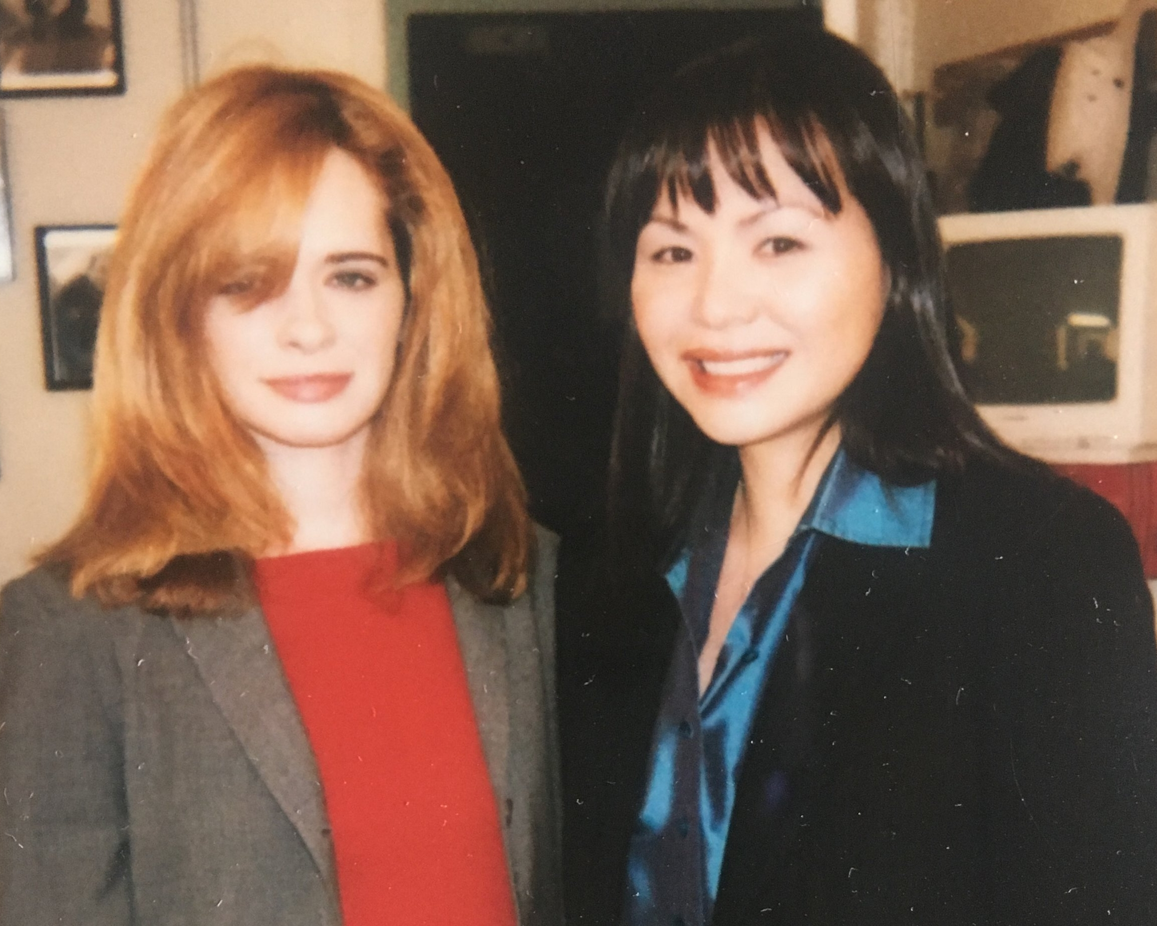 Guest starring with Adrienne Shelly on  Law & Order