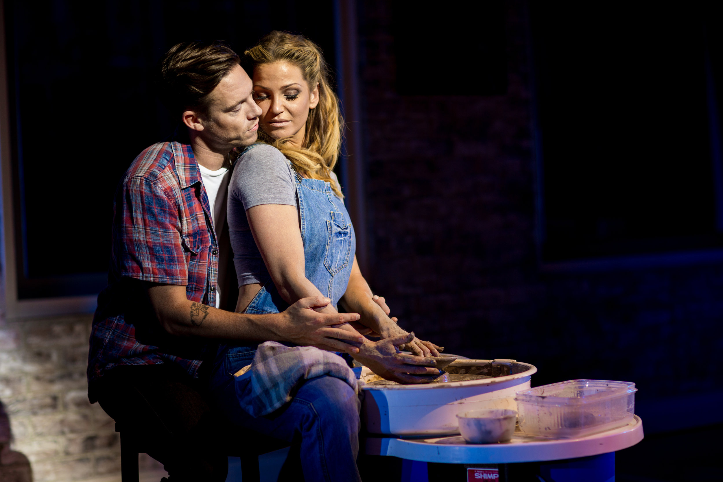 Andy Moss &Sarah Harding as Sam and Molly