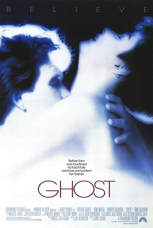 GHOST Movie poster (1990)