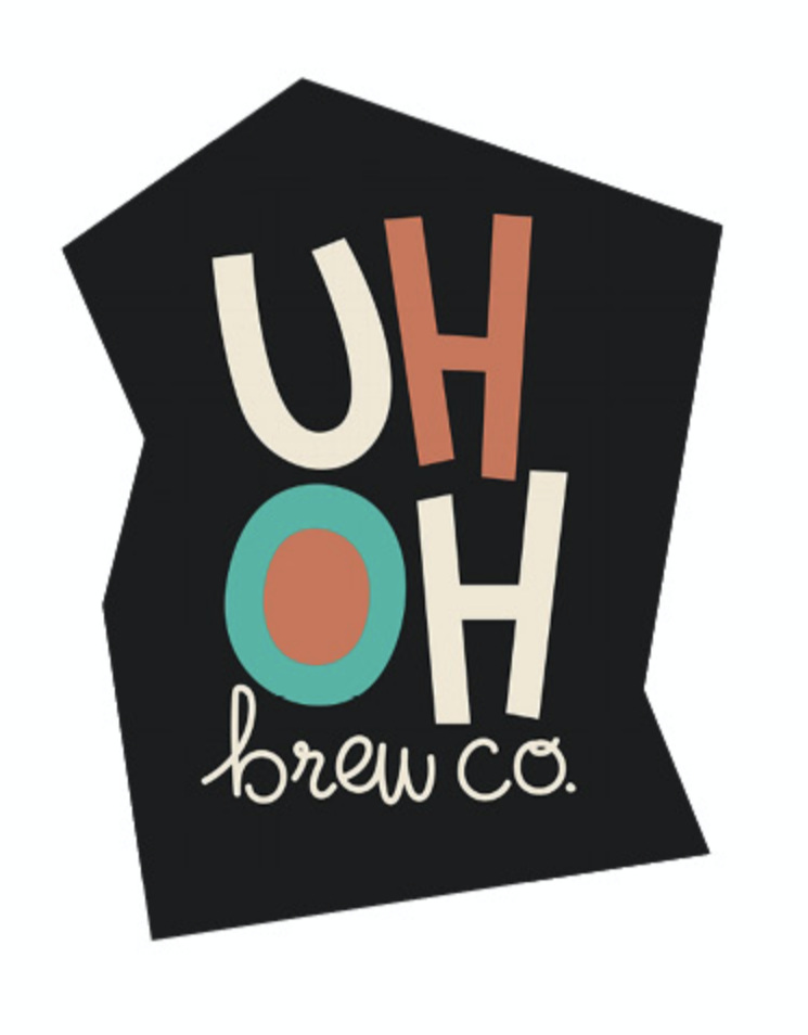 Brand and identity exploration of a fictional brewery, Uh Oh Brew Co.  *Freelance