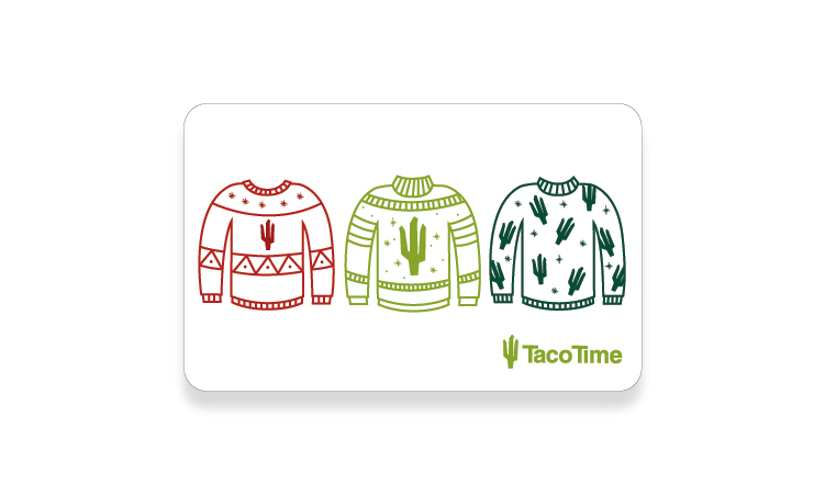 Cactus Card Winter 2019 card. Designed by Laurel Fisher.