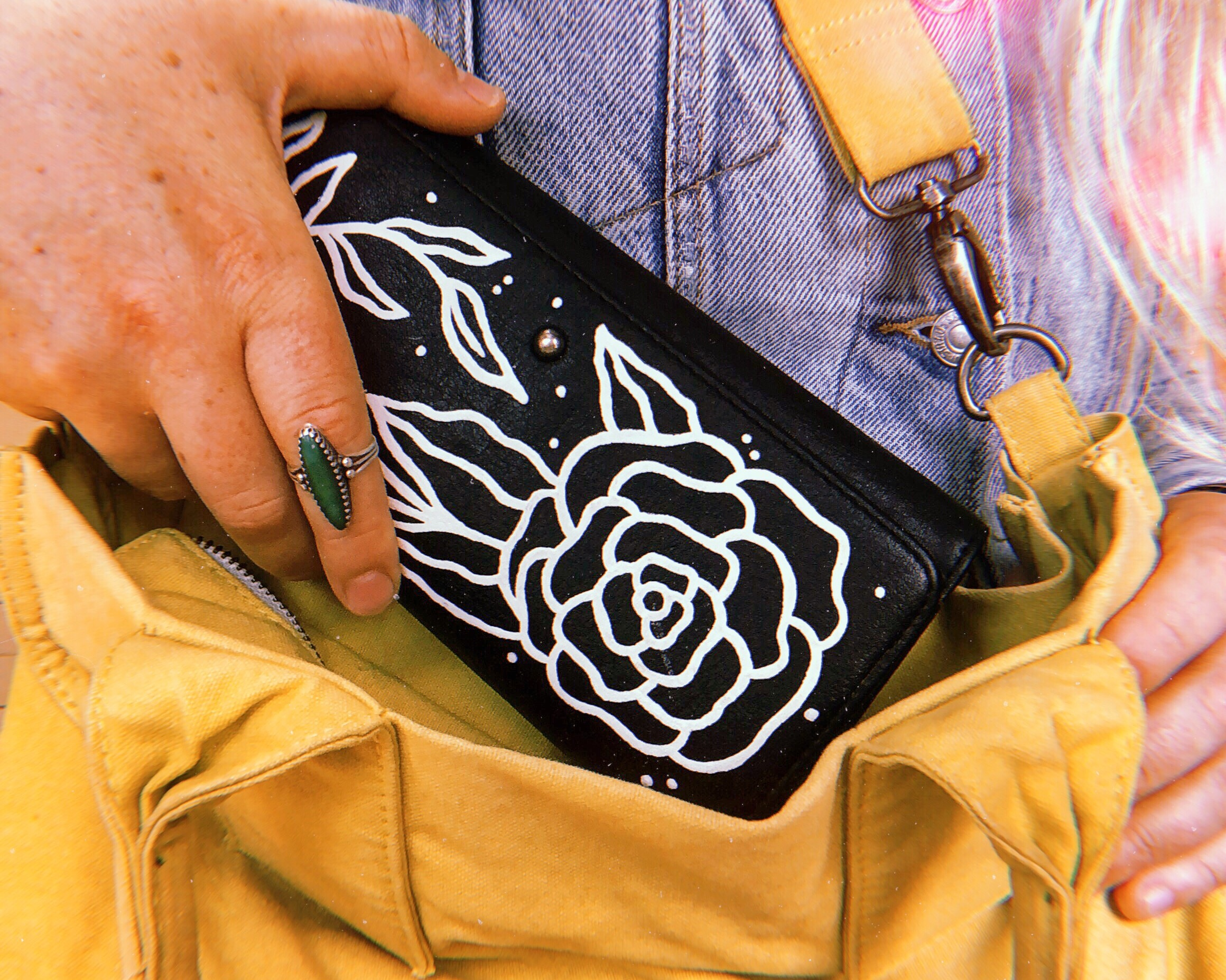 My brand name is Moral Laurel - Moral Laurel was born out of the idea to create fun and honest work through illustration and design. This site is dedicated to both of my passions: hand-painted up-cycled goods and freelance graphic design. I'm based out of Seattle WA, and my hope is to have a positive impact on my community.