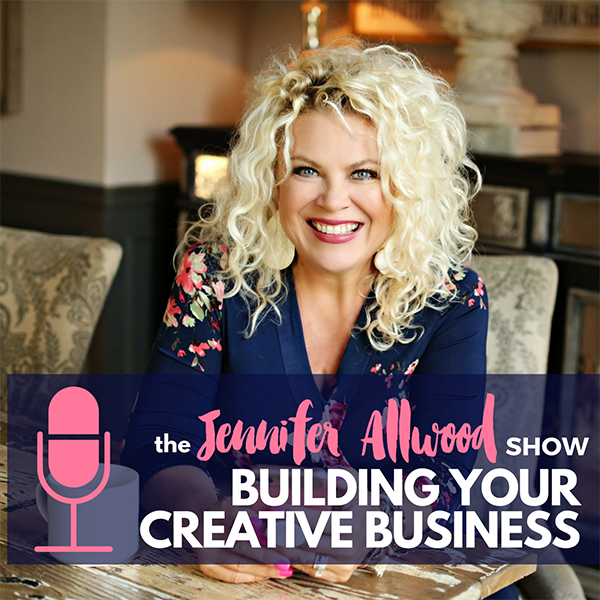 The Jennifer Allwood Show    Helping creative business owners build a highly engaged online audience and monetize their business.