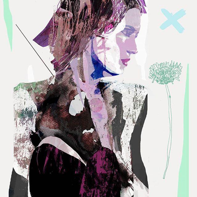 Reflection. Mixed media, digital. . . . . #fashionillustration #model #fashionillustrators #fashion #beauty #digitalart #beautiful #fashionart #sketch #vogue #photoshop #fashiondrawing #drawing #fashionillustrations #fashionmodel #robobop