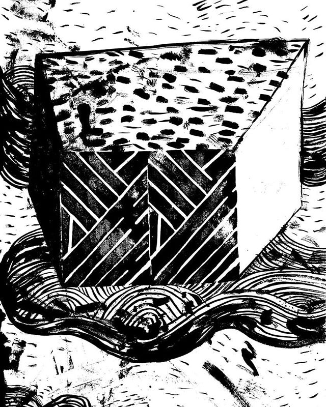 Ash Day 13! #inktober #inktober2019 . . . . #illustration #drawing #ink #sketch #illustrator #sketchbook #loveink #draw #rawart #inktoberday13 #box #inktober2019day13 #inkdrawing #melbourneartist #brushandink #robobop