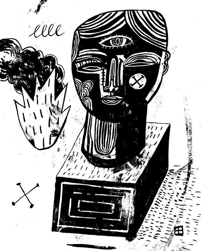 Misfit Day 18! #inktober #inktober2019 . . . . #illustration #drawing #ink #sketch #illustrator #sketchbook #loveink #draw #rawart #inktoberday18 #outsiderart #contemporaryart #surrealism #popsurrealism #inktober2019day18 #inkdrawing #melbourneartist #brushandink #robobop
