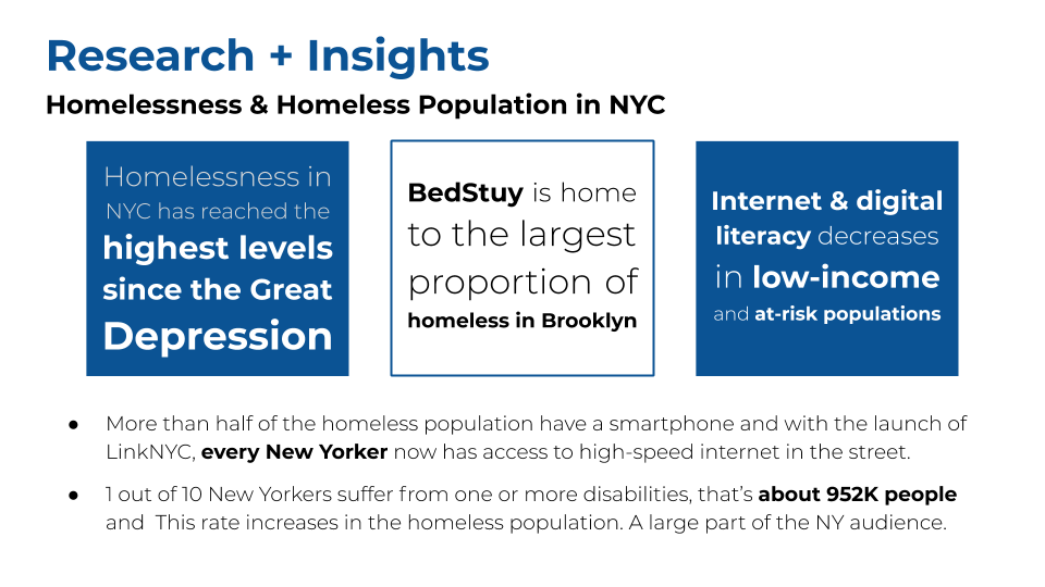 Source:  https://www.coalitionforthehomeless.org/basic-facts-about-homelessness-new-york-city/