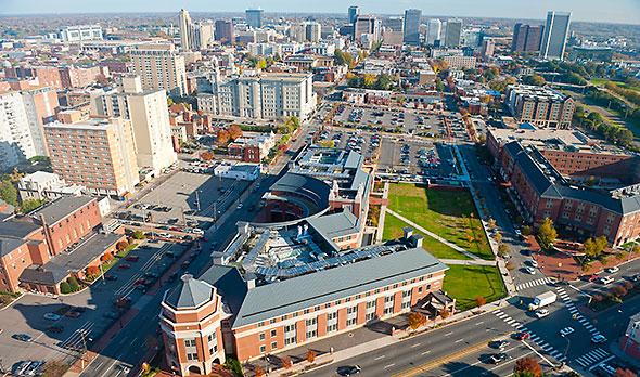 Campus - Aerial View