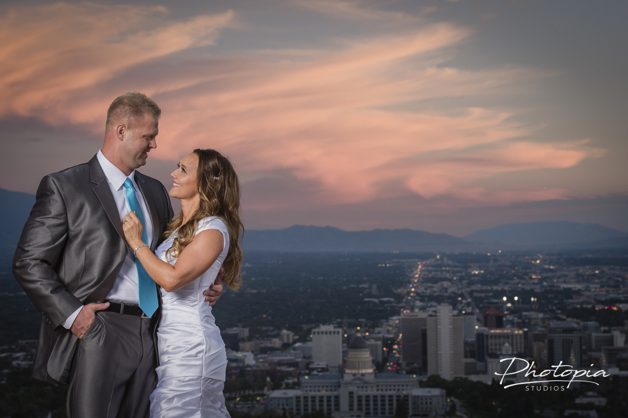 Kevin & Altee | Red Butte Gardens   - Capitol Hill Overlook