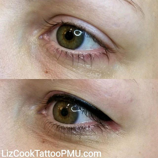 Before & After Eyeliner Black