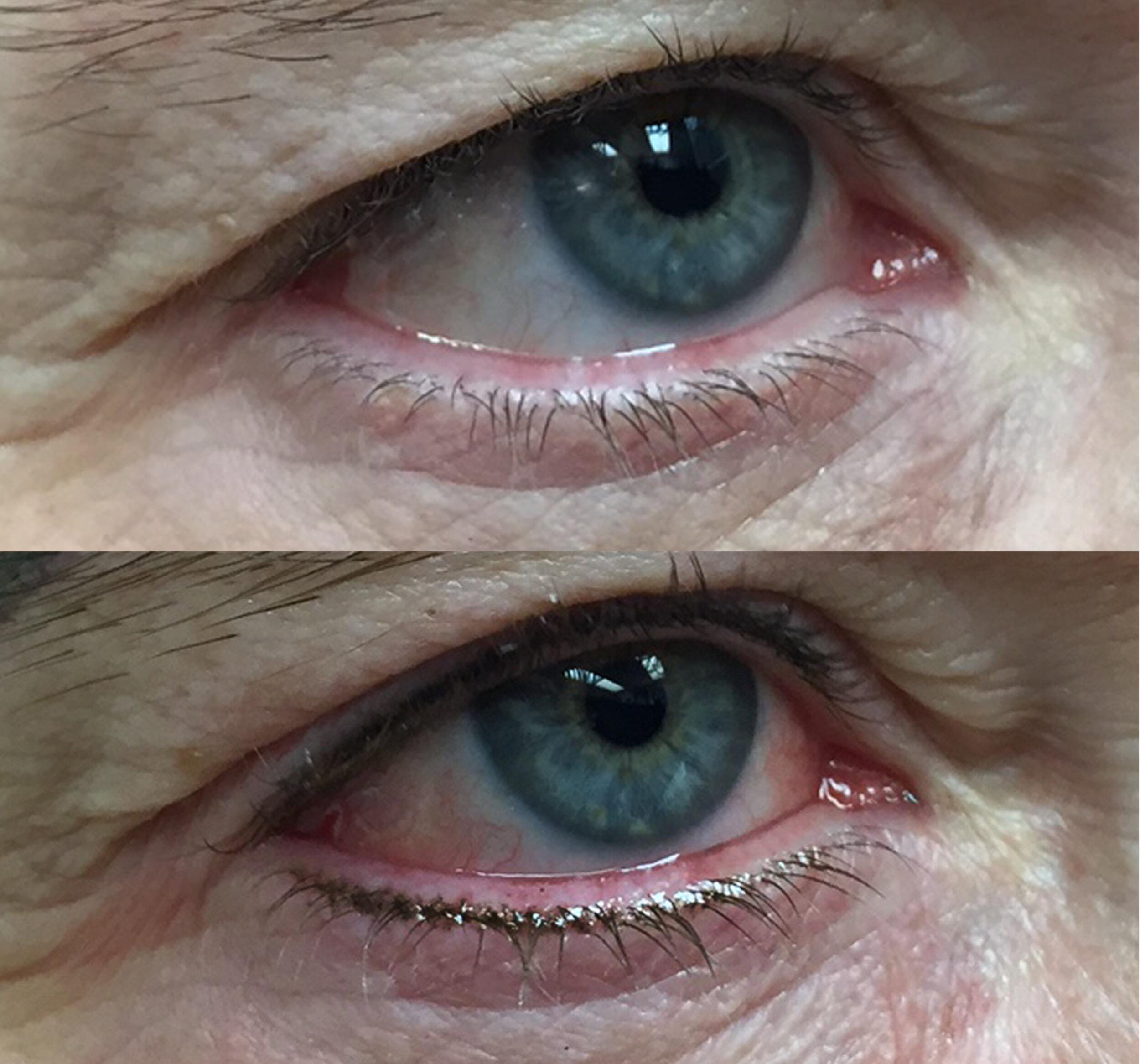 Liz Cook Tattoo Permanent Makeup Eyeliner Lash Enhancement Before After.jpg