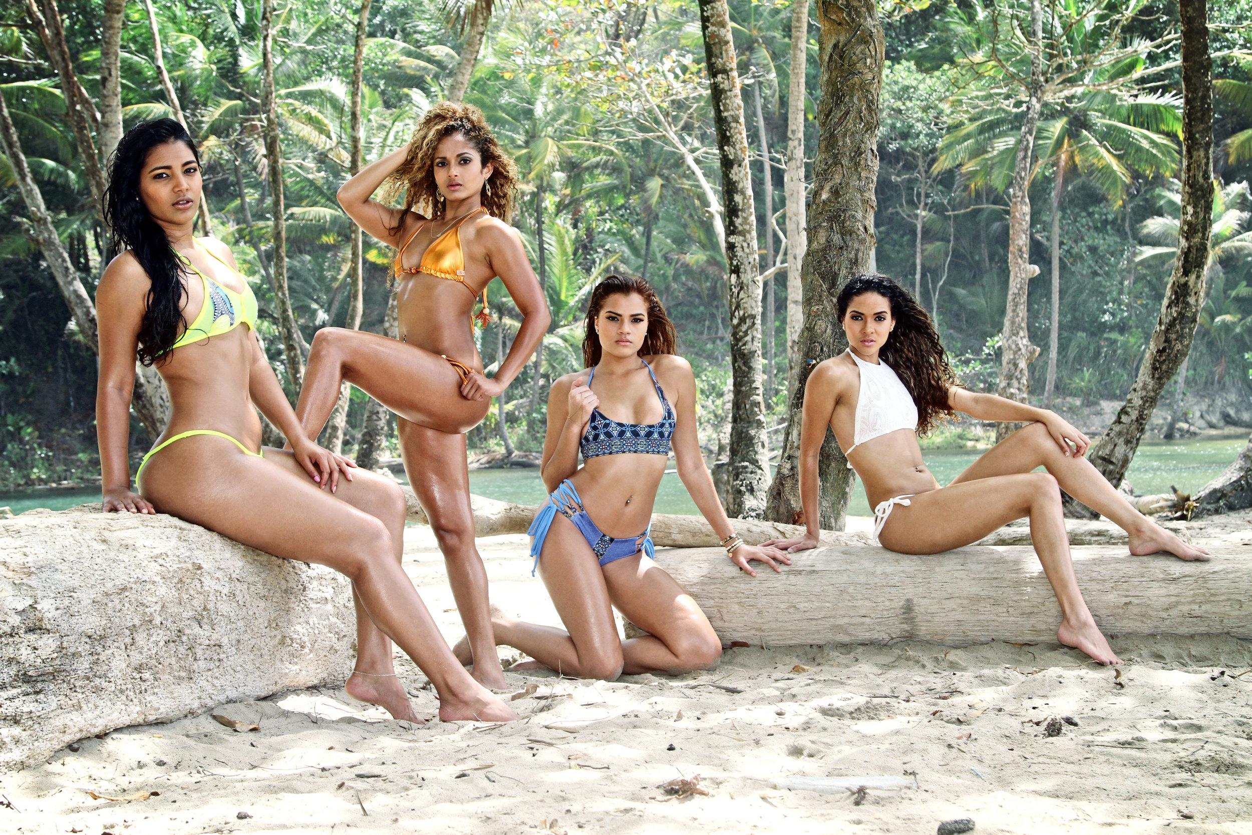 Jessica Mohammed, Krystle Khan, Dannie Bernard, Marisa Mohammed