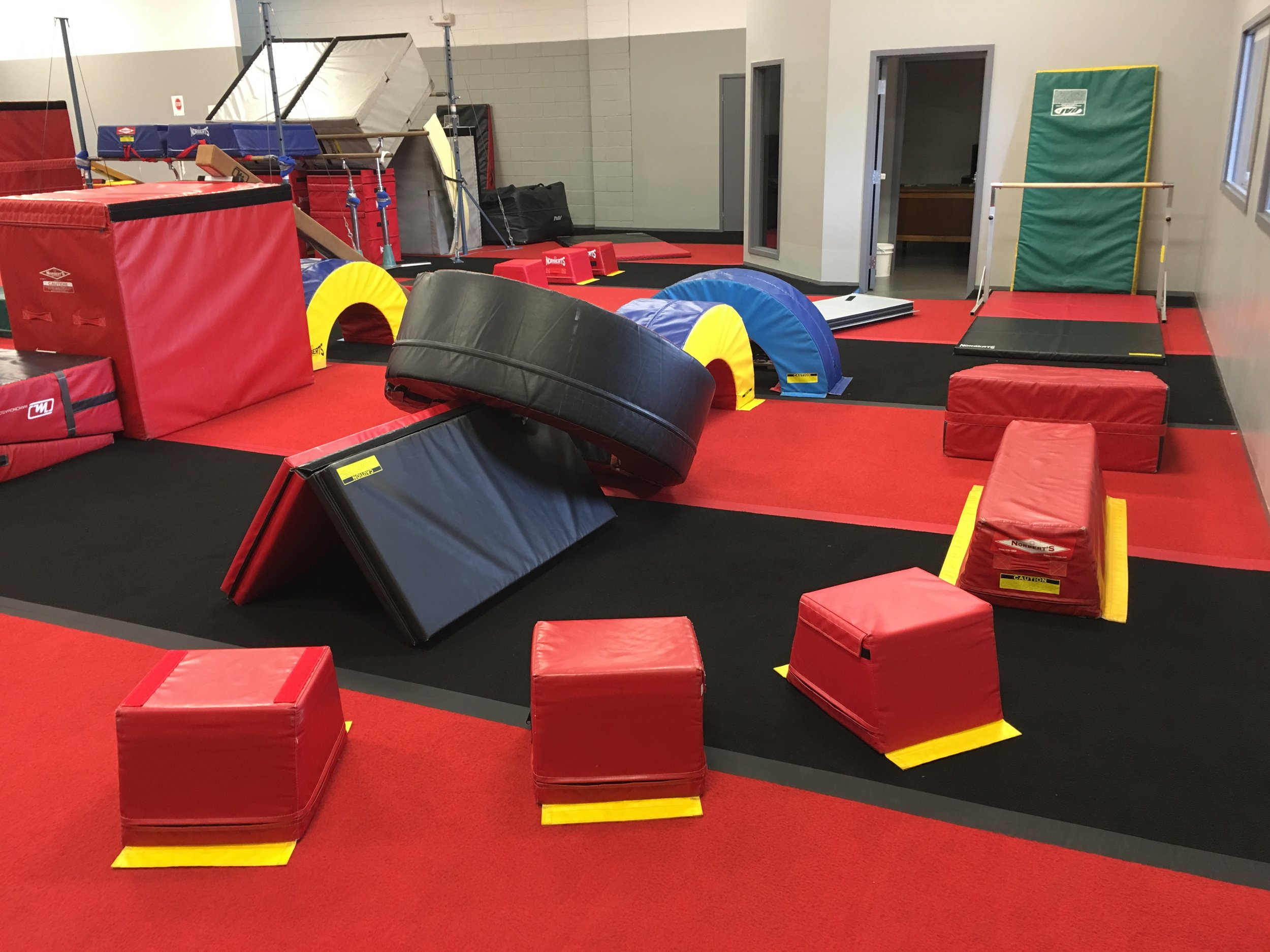 (Lower Gym) Pre-School Obstacle course