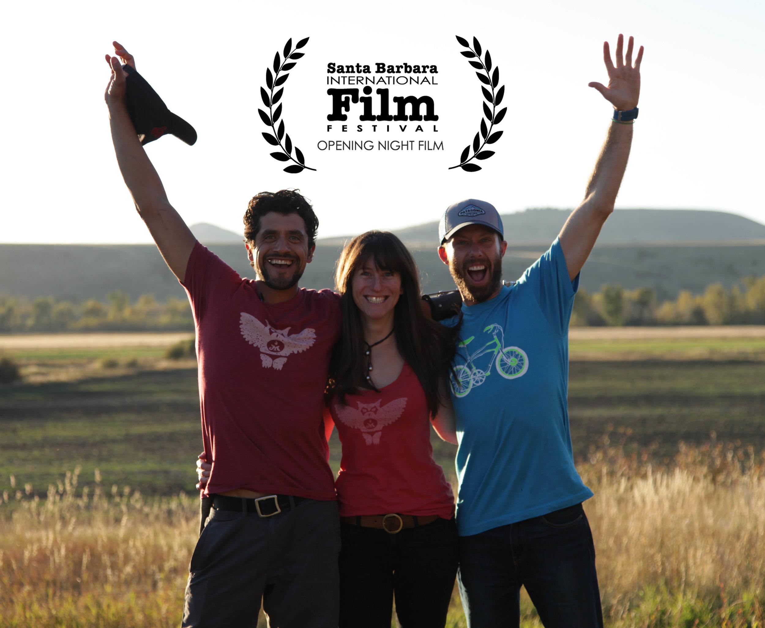 Director Phill Baribeau, eduardo and I celebrate!