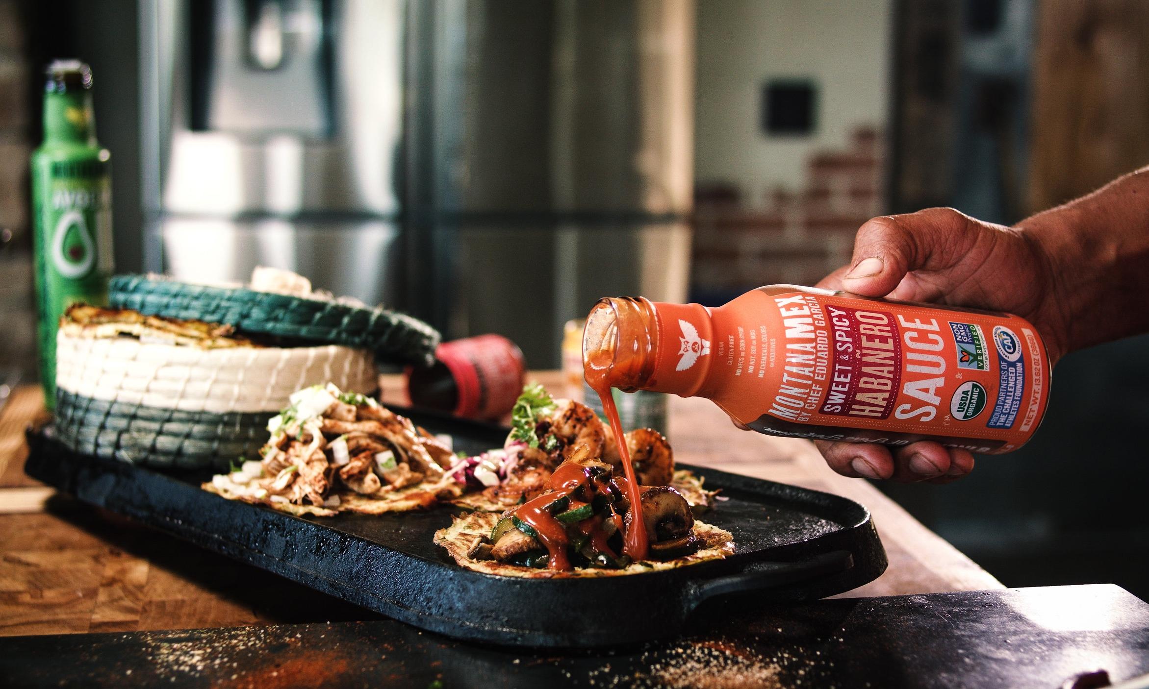 ketchup, BBQ and Habanero sauce deliciousness