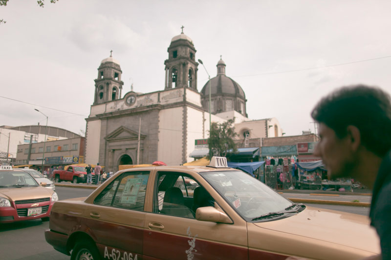 I then moved to Mexico City