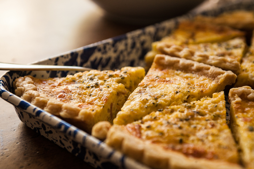 Bacon Gruyere Quiche